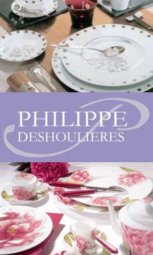philippe deshoulieres french porcelaine de limoges wine and cheese plates 4. Black Bedroom Furniture Sets. Home Design Ideas