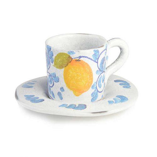 Modigliani - Amalfi tazza caffè con piatto