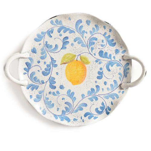 Modigliani - Amalfi vassoio torta c/manici