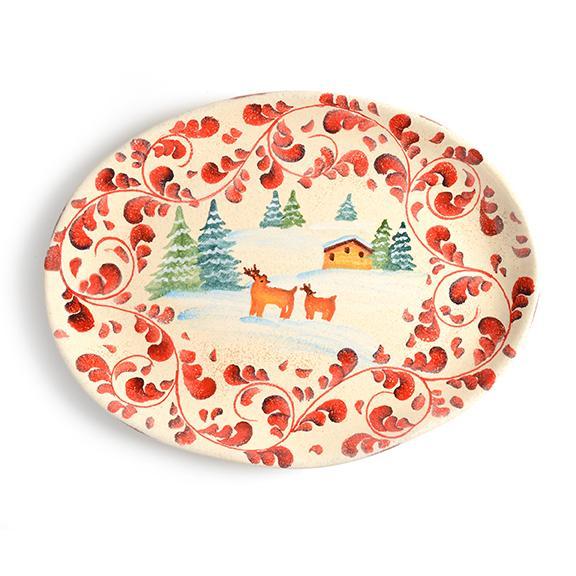 Modigliani - Amalfi piatto portata ovale cm 44