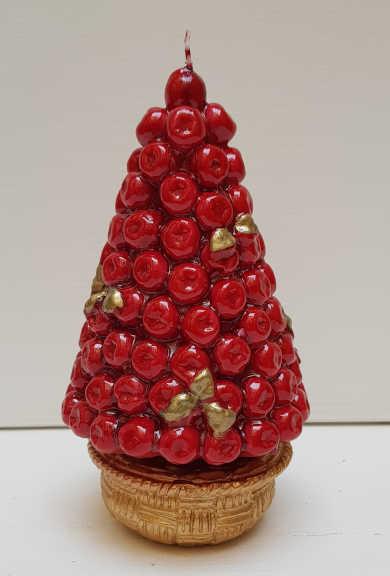 Il Nostro Natale Candela Albero Meline