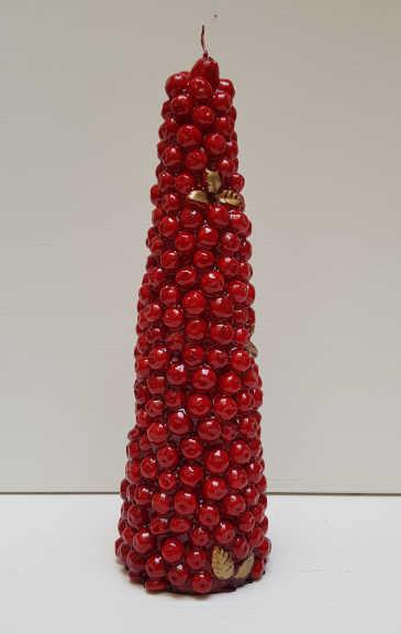 Il Nostro Natale candela cono meline media