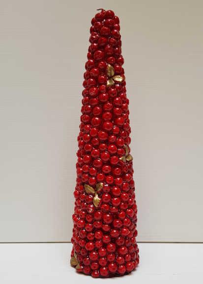 Il Nostro Natale candela cono meline grande