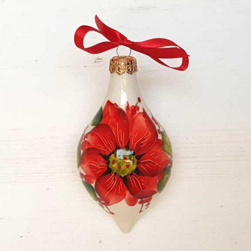 Il Nostro Natale Ornamento Albero Goccia decoro stella di natale