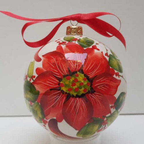Il Nostro Natale Ornamento Albero Palla grande decoro stella di natale
