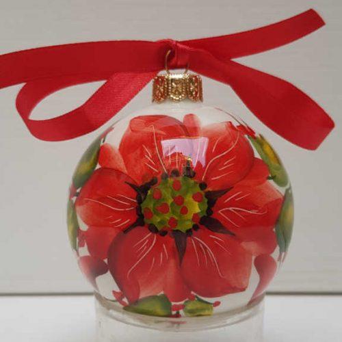 Il Nostro Natale ornamento palla media decoro stella di natale