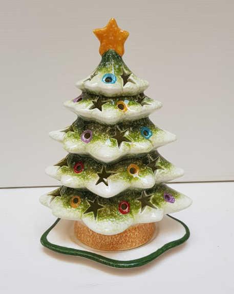 Il Nostro Natale albero portacandele grande