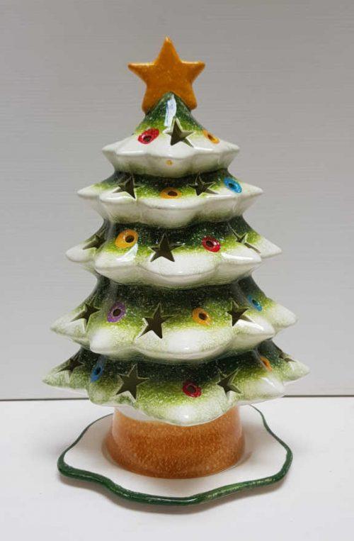 Il Nostro Natale albero portacandele piccolo