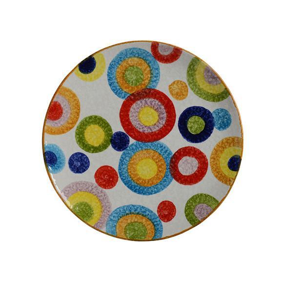 Modigliani - POP Cerchi piatto tondo cm35