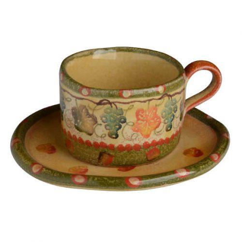 Modigliani - Terre di Chianti tazza tè c/piatto