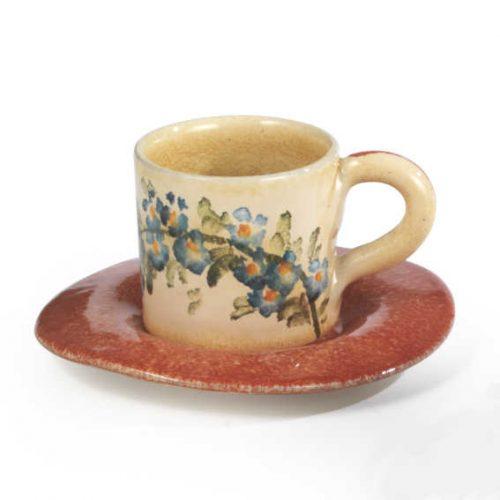 Terra Fiorita Tazza da caffè arancio