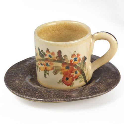 Terra Fiorita Tazza da caffè viola