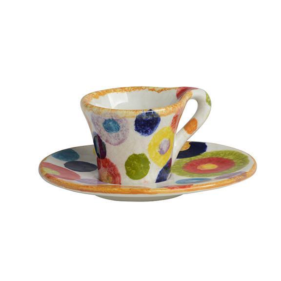 Modigliani - POP tazza caffè con piatto cerchi