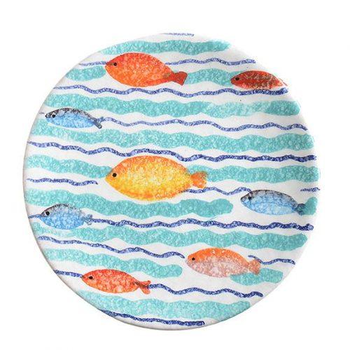 Modigliani - Portovenere piattino cm16 onde