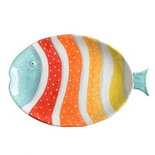Modigliani Portovenere- Piatto Ovale Pesce