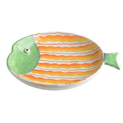 Modigliani Portovenere- Piatto Tondo Pesce