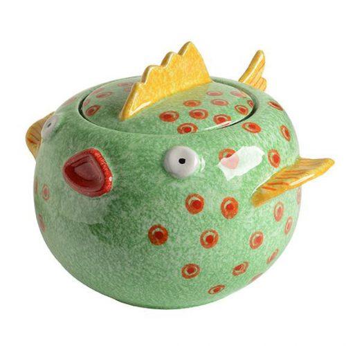 Modigliani - Portovenere Pesce palla c/coperchio grande