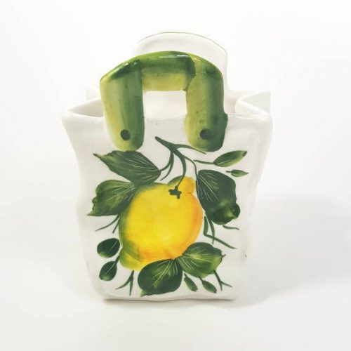 Modigliani borsetta piccola limone