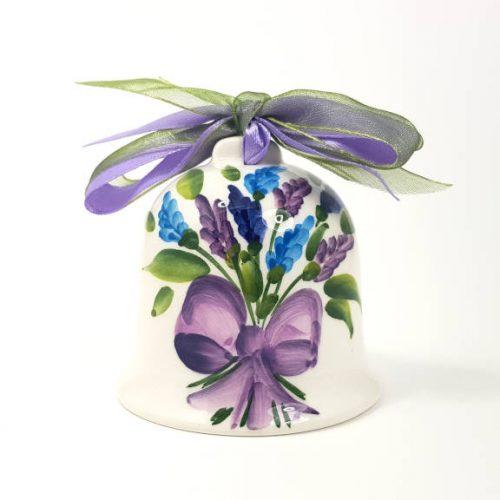 Modigliani Pasqua campanella ceramica lavanda