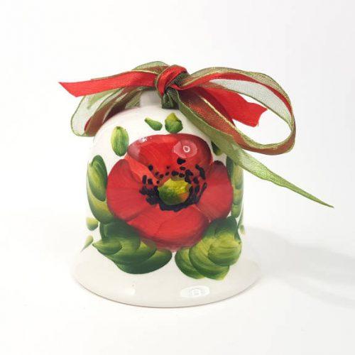 Modigliani Pasqua campanella ceramica papavero