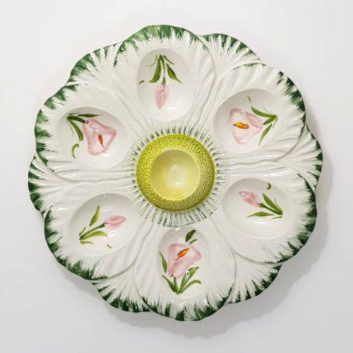 Modigliani Pasqua piatto uova fiore calle