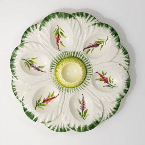 Modigliani Pasqua piatto uova fiore glicine