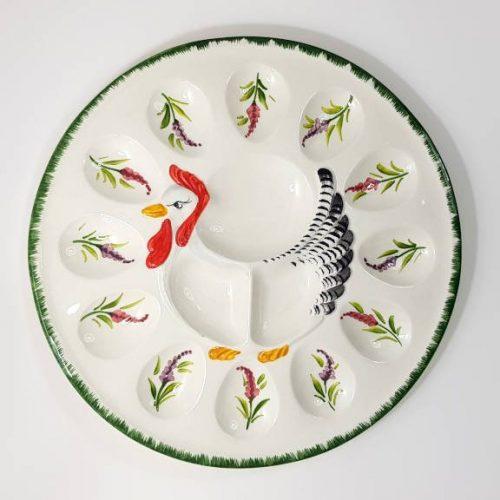 Modigliani Pasqua piatto gallina glicine
