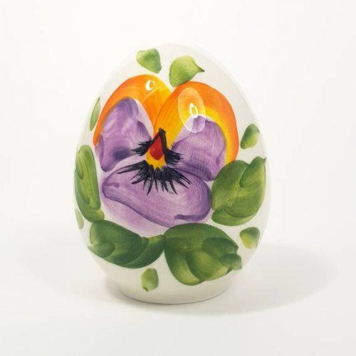 Modigliani Pasqua uovo ceramica pansè
