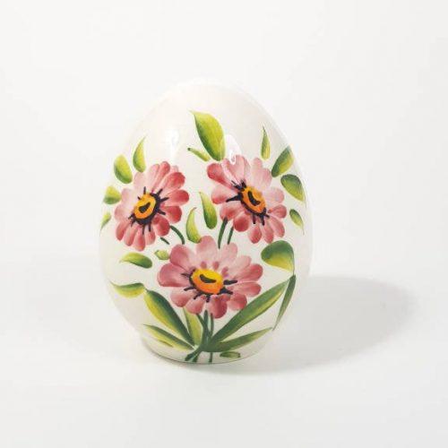 Modigliani Pasqua uovo ceramica margherite rosa